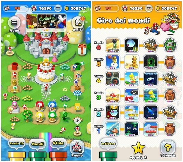 Giochi di Mario Bros per smartphone e tablet