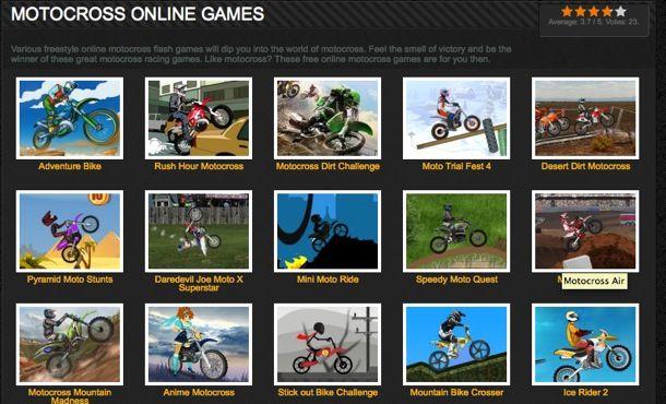 Giochi motocross