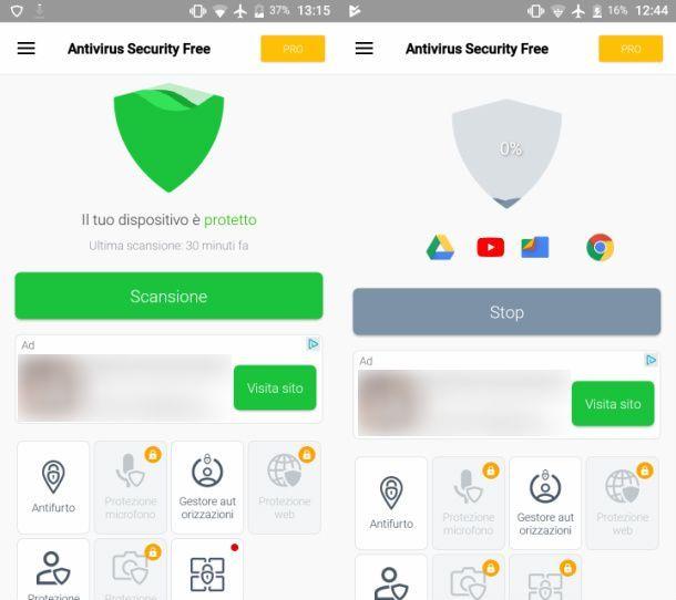 Avira Free Antivirus per Android