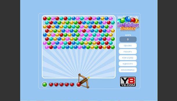 Puzzle Bubble su Y8