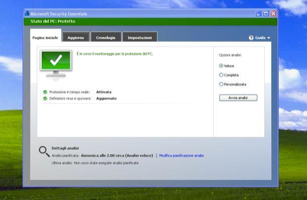 Antivirus Microsoft XP