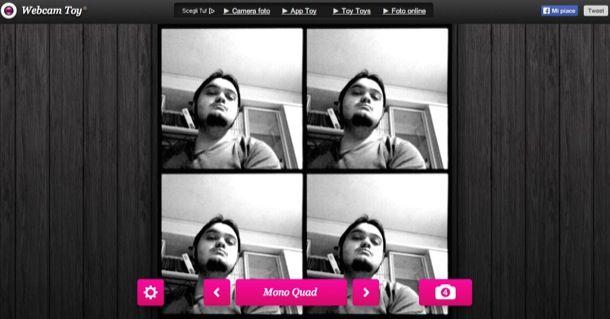 Effetti webcam