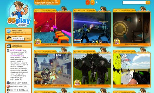 Giochi 3D online