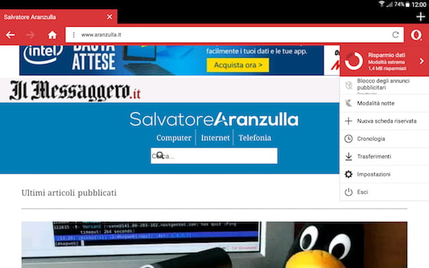 Miglior browser Android