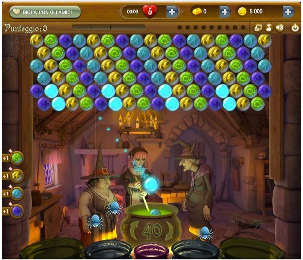 giochi gratis puzzle bubble
