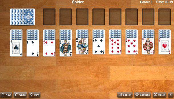 Spider gioco