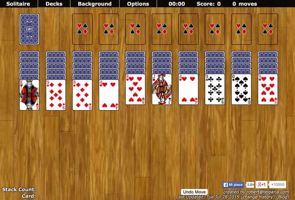 Gioco spider on line