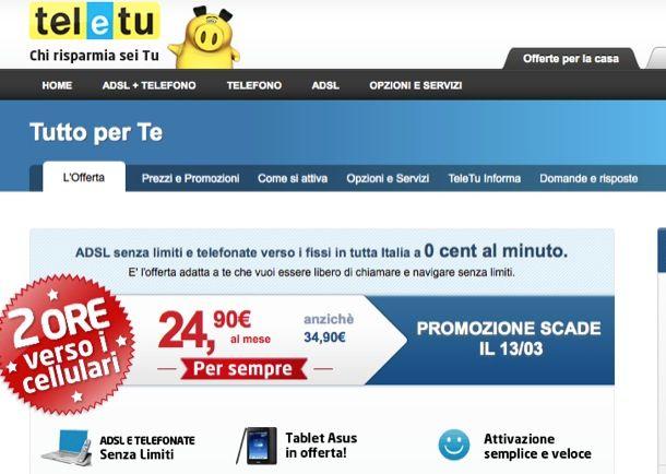 TeleTu ADSL