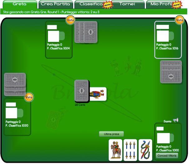 Briscola Multiplayer
