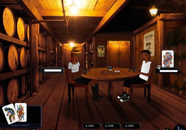 Briscola Multiplayer online