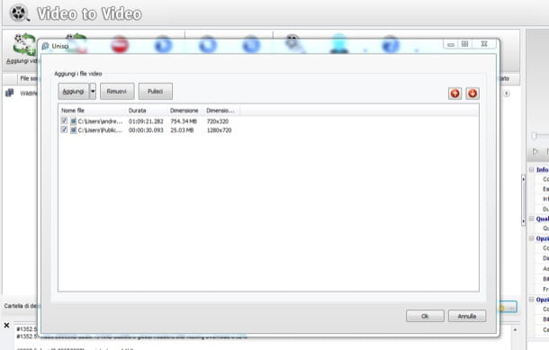 Unire video