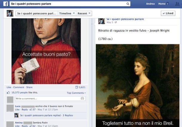 Link divertenti per Facebook
