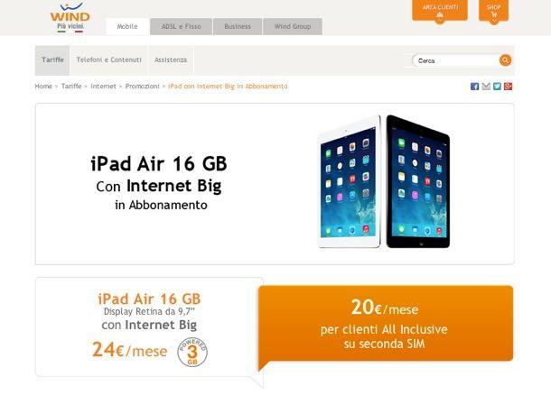 Offerte iPad