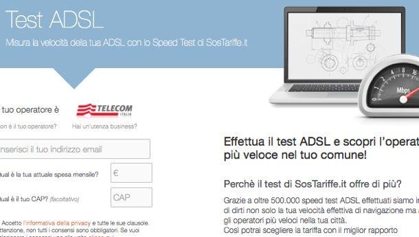 Test ADSL Alice