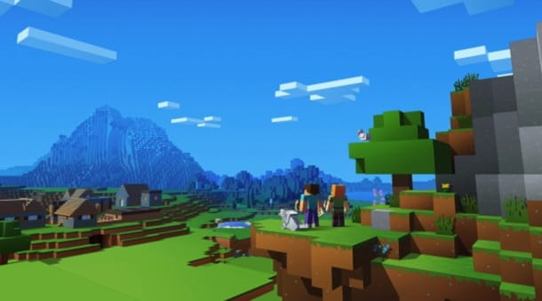 Minecraft giocatori