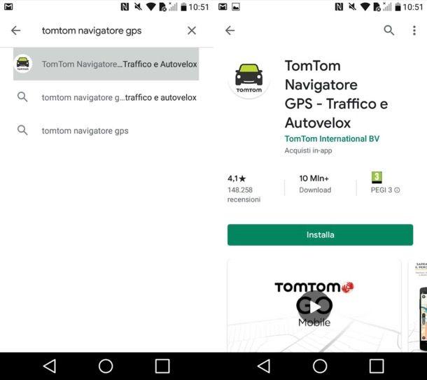 Scaricare TomTom su Android