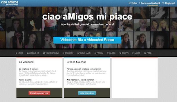 incontri chat on-line senza registrazione