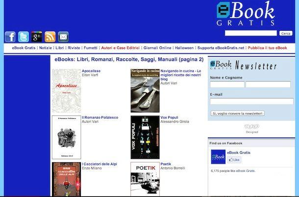 eBook gratis italiano