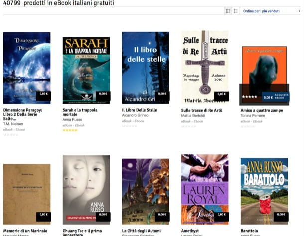 Ebook gratis italiano