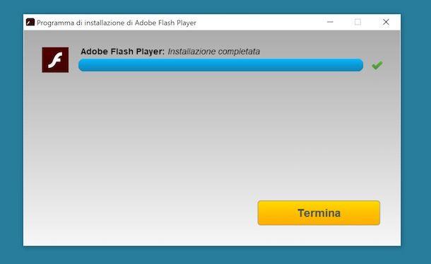 ultima versione aggiornata di adobe flash player