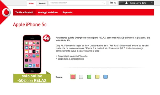 Offerte Vodafone iPhone