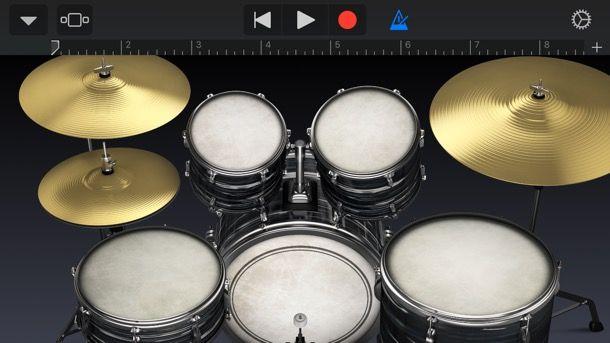 GarageBand per iOS