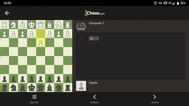 Gioco scacchi gratis per tablet