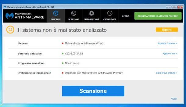 antispyware italiano gratis