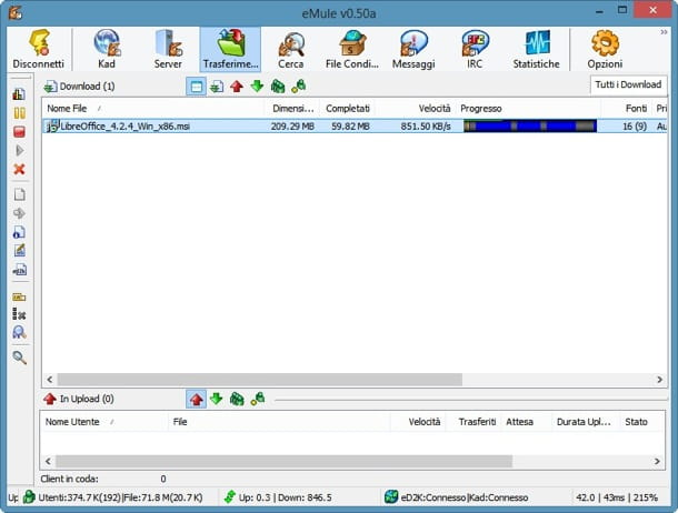 kad network firewalled:
