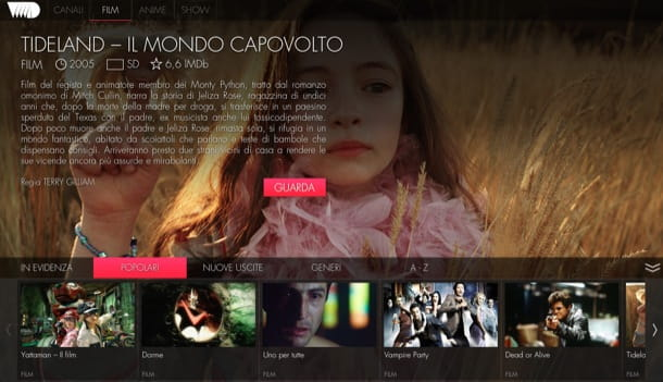 Film in streaming in italiano