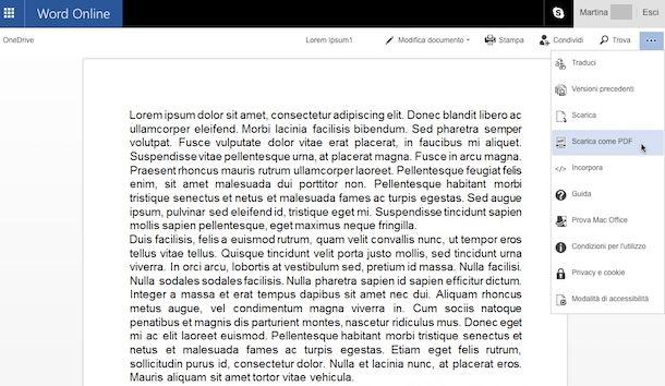 Convertitore PDF Word gratis