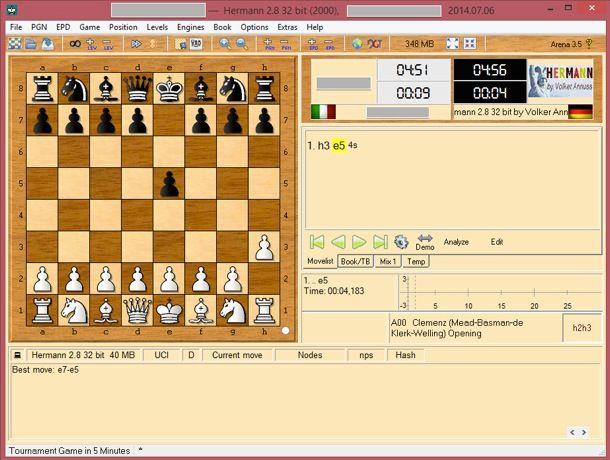 Gioco scacchi gratis