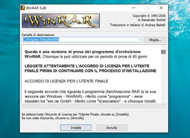 WinRAR gratis