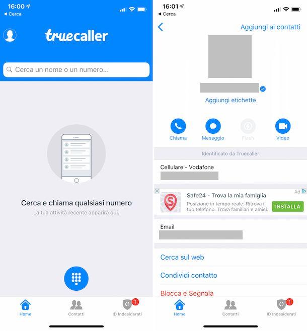 Come sapere se un numero è Vodafone