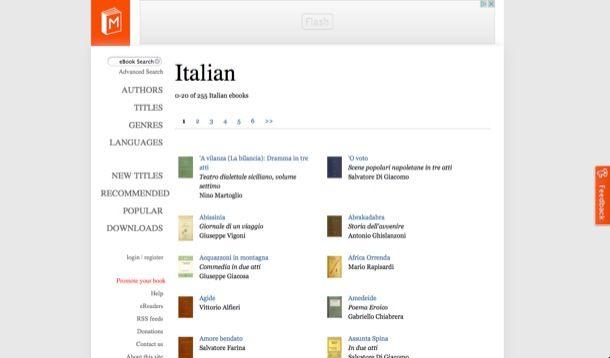 Ebook in italiano gratuiti da scaricare
