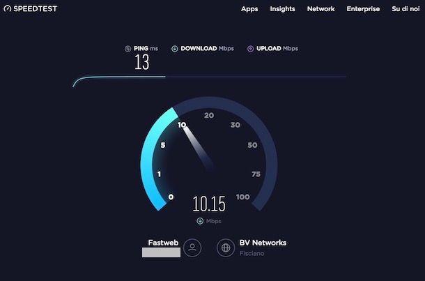 Come testare velocità ADSL
