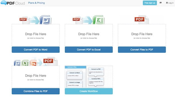 Convertire file PDF in Word gratis