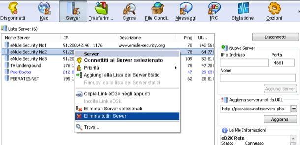 Server sicuri eMule