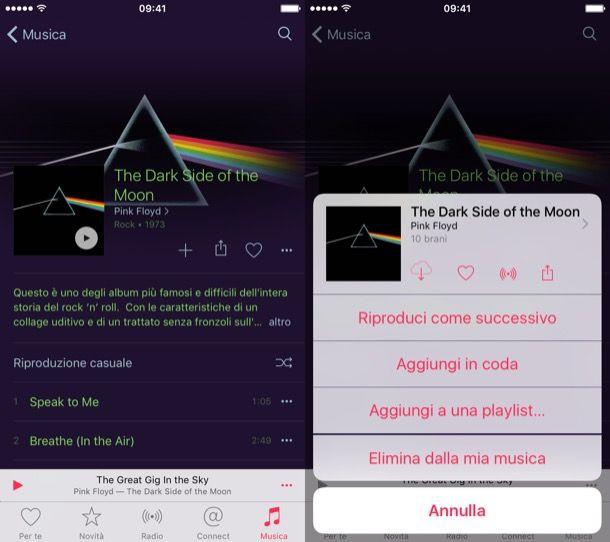 Scaricare musica su iPhone