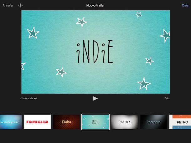 iMovie su iPad