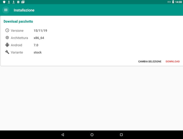 Open GApps su tablet Android