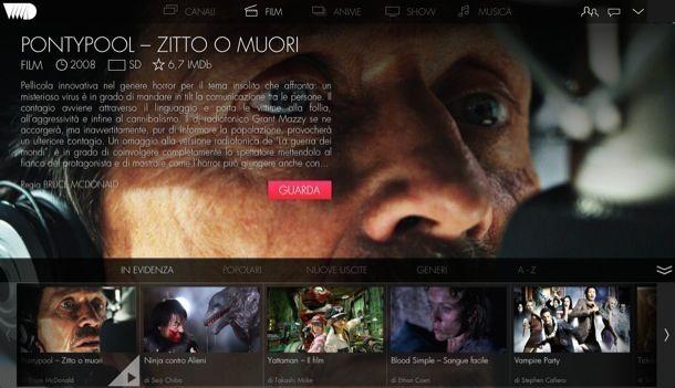 Film streaming in italiano gratis