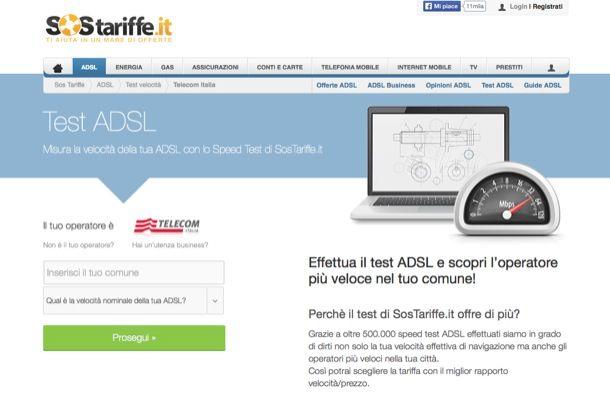 Misuratore ADSL