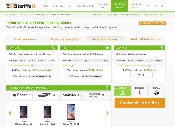 Offerte telefonia mobile salvatore aranzulla for Offerte mobile