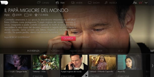 Vedere film gratis in streaming