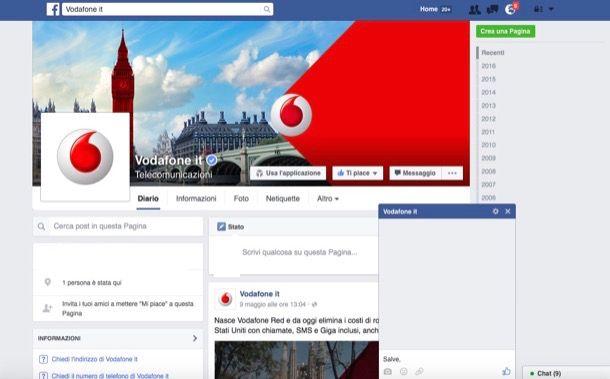 Come parlare con un operatore Vodafone