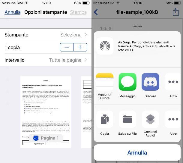 Convertire RTF in PDF su iOS