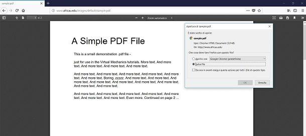 Come scaricare PDF | Salvatore Aranzulla
