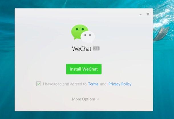 Come funziona WeChat