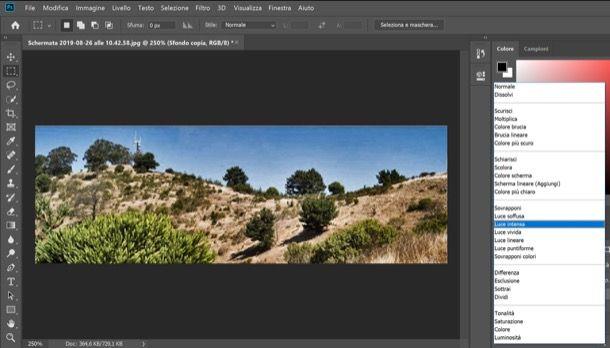 Effetto HDR di Photoshop su foto singola